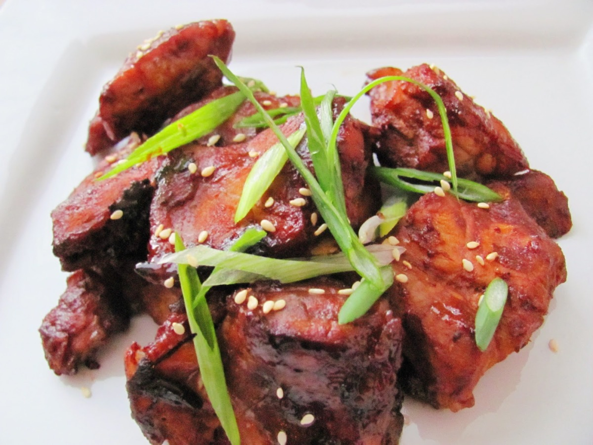 Sweet and Spicy Glazed ButtonBones