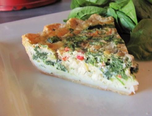 Spinach and FetaQuiche