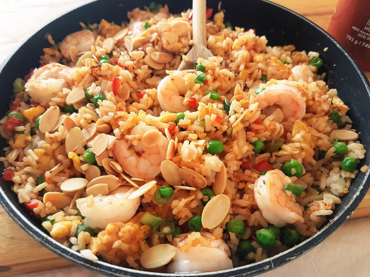 Easy Shrimp FriedRice